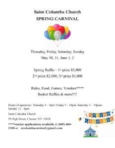 St. Columba Spring Carnival @ St. Columba Church