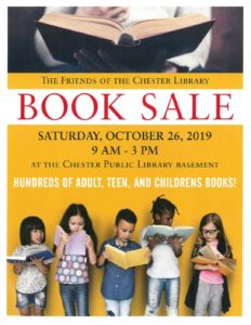 CHESTER LIBRARY BOOK SALE @ CHESTER LIBRARY