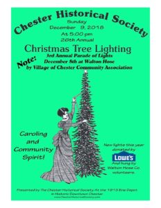 Chester's 27th Annual Holiday Tree Lighting