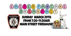 EASTER PANCAKE BREAKFAST @ WALTON ENGINE & HOSE CO. @ WALTON ENGINE & HOSE CO.