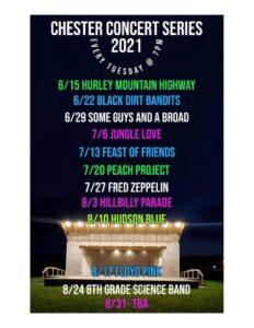 CHESTER CONCERT SERIES 2021 @ CHESTER CONCERT SERIES